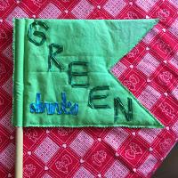Green Drinks Flag